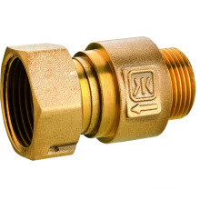 Brass control valve before water meter, 403 brass valve, low price & high quality